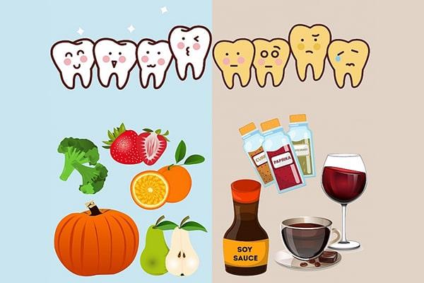 Các loại thực phẩm cần tránh sau khi nhổ răng